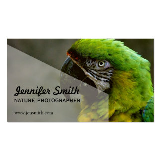 Nature Photographer Business Card