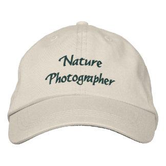 Nature Photographer Embroidered Baseball Cap