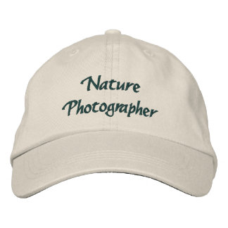 Nature Photographer Embroidered Hat
