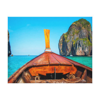 Nature photography |  Boat| Ocean Canvas Print