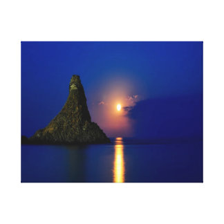 Nature photography |  ocean | sun canvas print