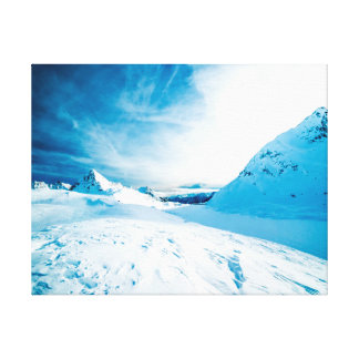 Nature photography |  snow | mountains canvas print