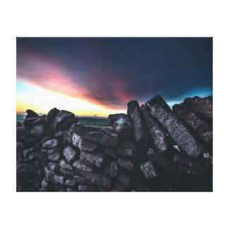 Nature photography |  Stone wall Canvas Print