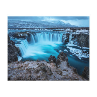 Nature photography | Waterfall | Landscape Canvas Print