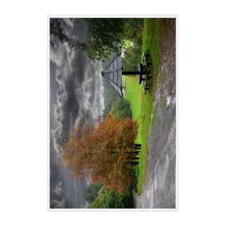 Nature poster acrylic acrylic print