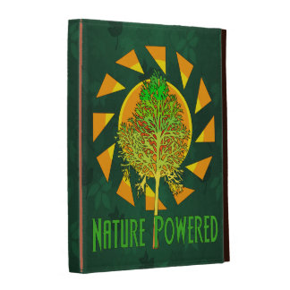 Nature Powered iPad Folio Cover