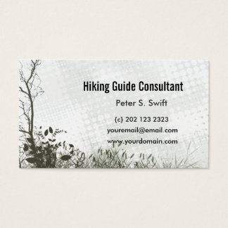 Nature Professional Guide Business Card