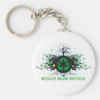 Nature Recycles Key Ring