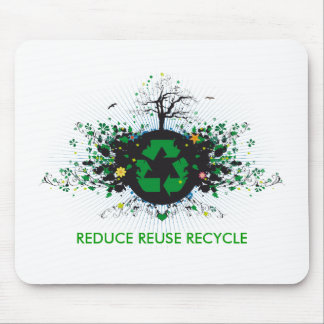 Nature Recycles Mouse Pad