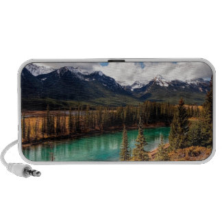 Nature River Blue Lagoon Mountains Travelling Speaker