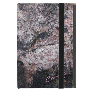 Nature Rock Texture Pinkish Covers For iPad Mini