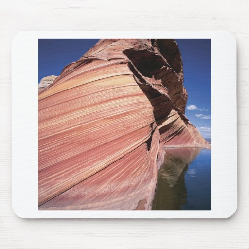 Nature Rocks Red Mass Loch Mouse Pad