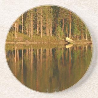Nature's Reflections custom coaster