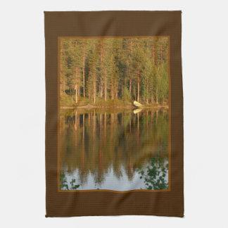 Nature's Reflections custom kitchen towel