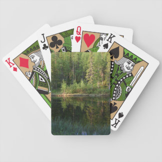 Nature's Reflections custom playing cards