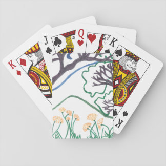Nature Scene playing cards, standard index faces Poker Deck