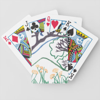 Nature Scene poker playing cards
