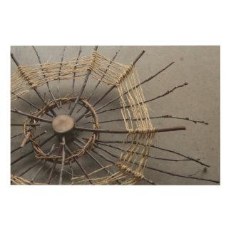 Nature Sculpture Photography Composition Oblique Wood Wall Art