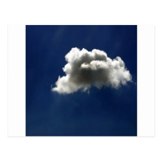 Nature Sky Clouds All Alone Postcard