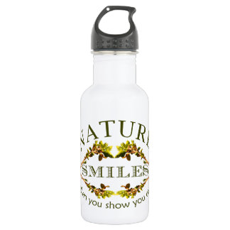 Nature Smiles 532 Ml Water Bottle