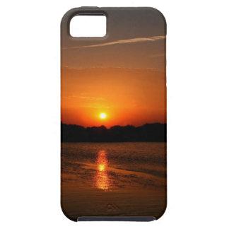 Nature Sunset Dark Rocky Coast iPhone 5/5S Cover