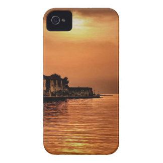 Nature Sunset Orange Town Case-Mate iPhone 4 Case