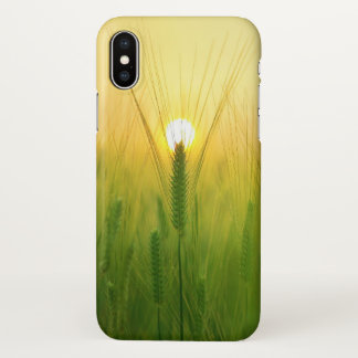 Nature Suset in the Green iphone Case