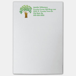 Nature Tree Personal or Professional Corporate Post-it® Notes