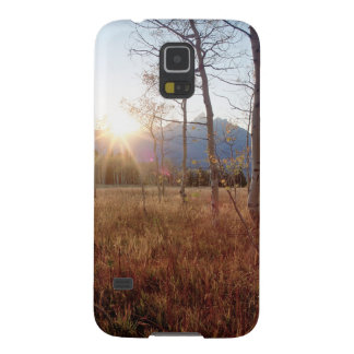 Nature Trees Winter Sun Forest Galaxy S5 Case