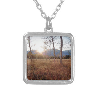 Nature Trees Winter Sun Forest Jewelry