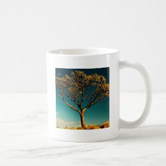 Nature Trees Yellow Bark Mug