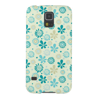 Nature Turquoise Abstract Sunshine Floral Pattern Galaxy S5 Case