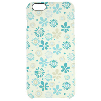 Nature Turquoise Abstract Sunshine Floral Pattern iPhone 6 Plus Case