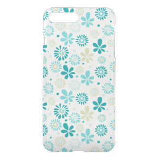 Nature Turquoise Abstract Sunshine Floral Pattern iPhone 7 Plus Case