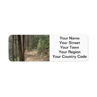 Nature Walk Return Address Label