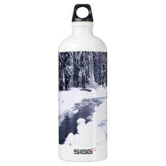 Nature Winter Snowy River SIGG Traveller 1.0L Water Bottle