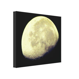 Nature Wonders: The Moon Canvas Print