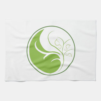 Nature Yin Yang Tea Towel