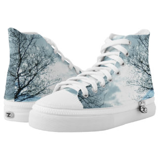 Nature Zipz High Top Shoes Printed Shoes