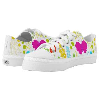 Nature Zipz Low Top Shoes, US Men 4 / US Women 6 Printed Shoes