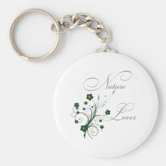 NatureLover Basic Round Button Key Ring