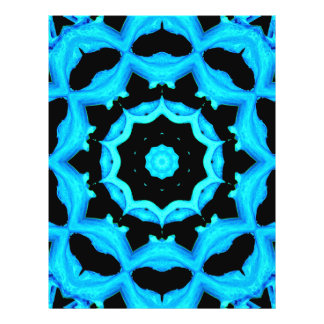 NATURES ART OCEAN BLUE FLYER DESIGN