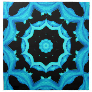 NATURES ART OCEAN BLUE NAPKIN