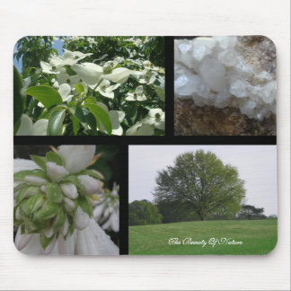 Natures Beauty Collage Mousepad