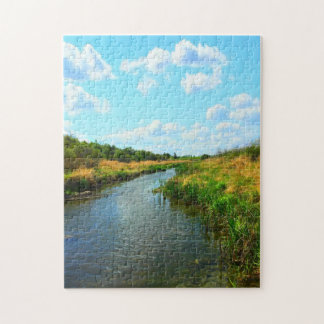 Natures Best - Prairie Creek in Summer Jigsaw Puzzle