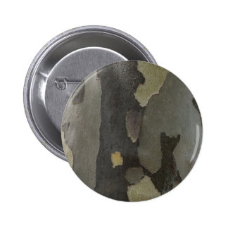 Nature's Camouflage -Sycamore Bark 6 Cm Round Badge