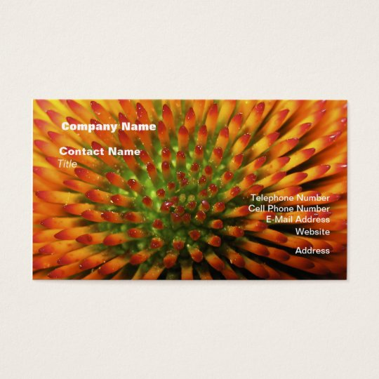 Nature's Candy Corn Business Cards