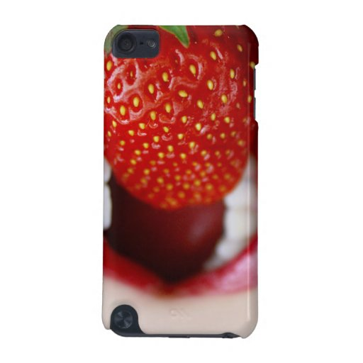 Nature's Candy - Woman Eating Strawberry iPod Touch (5th Generation) Cover