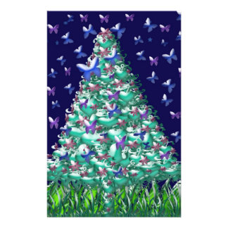 Natures Christmas Tree 14 Cm X 21.5 Cm Flyer