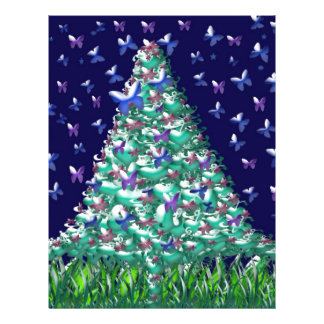 Natures Christmas Tree Full Color Flyer